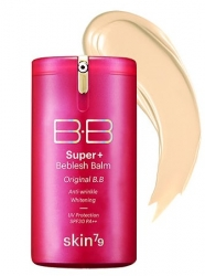 Skin79 BB Cream Hot Pink Super+ Beblesh Balm (40g)