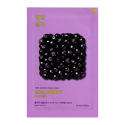 Holika Holika Pure Essence Mask Sheet - Acai Berry (20 ml)