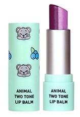 Skin79 Animal Two Tone Lip Balm Blueberry Mouse