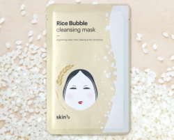 Pleťová maska Rice Bubble Cleansing Mask SKIN79