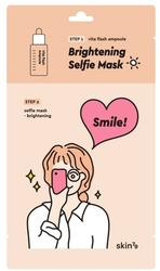 Skin79 Selfie Mask Sheet 2 step - Brightening