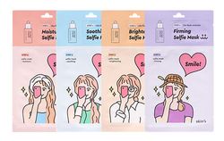 Skin79 Selfie mask sheet 2 step - 4 pcs