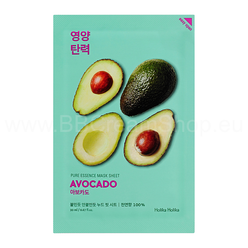 Holika Holika Pure Essence Mask Sheet - Avocado (20 ml)