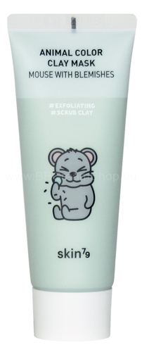 Pleťová maska - Animal Color Clay Mask - Mouse with Blemishes  SKIN79 (70ml)