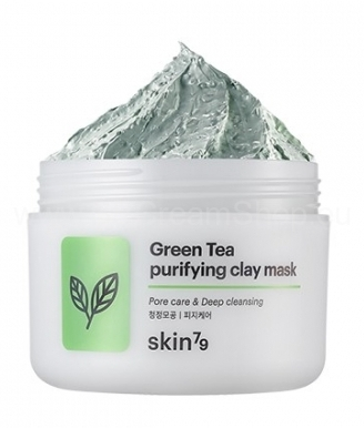 Pleťová maska Green Tea Purifyng Clay Mask (95ml)