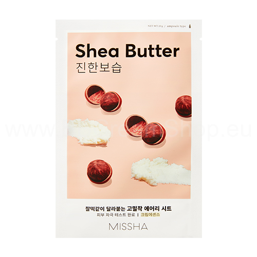 Missha Airy Fit Sheet Mask - Shea Butter