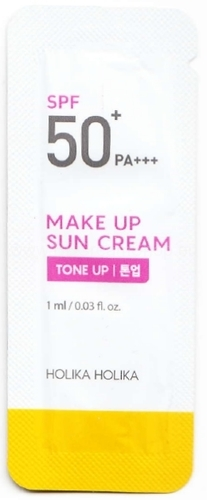 Holika Holika Make Up Sun Cream SPF50+ - sample 1ml